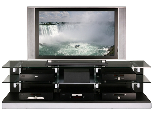 Brighton beach modern tv stand design for Table tv design