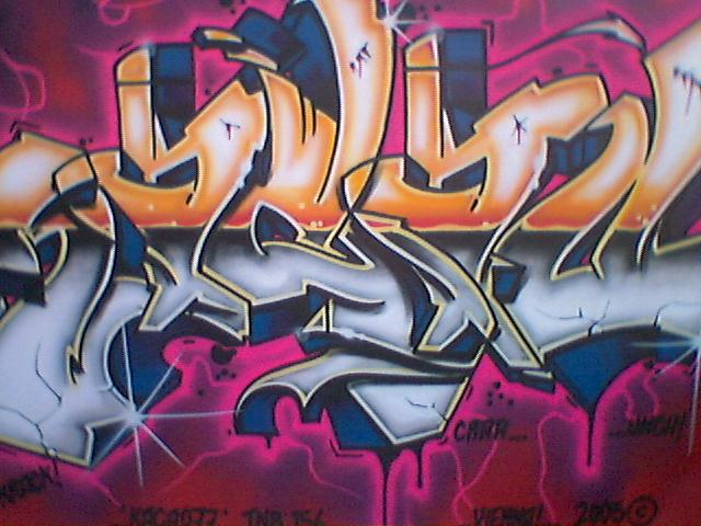graffiti art letters. Graffiti is ART!