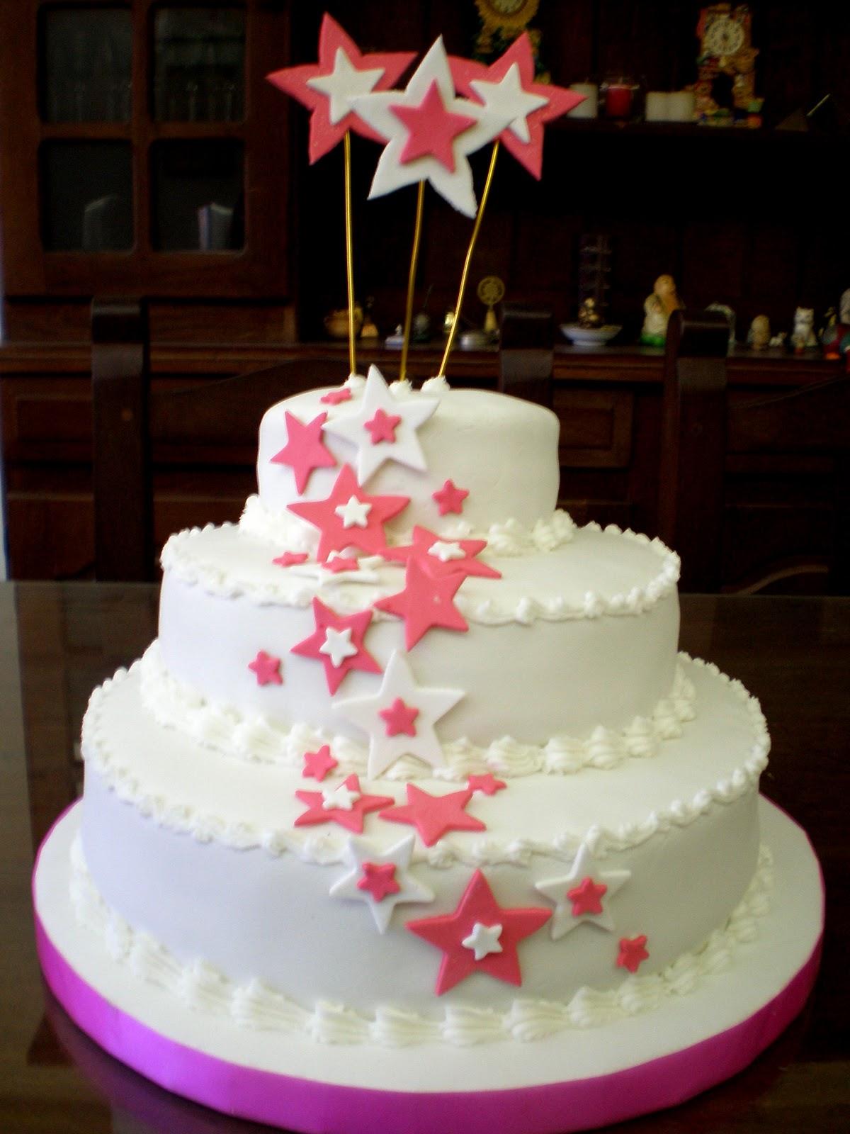 www.Lily-Tortasartesanales.blogspot.com: Estrellas por todos lados