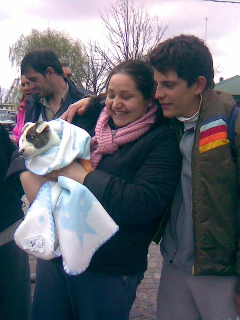 Potter con su nueva familia