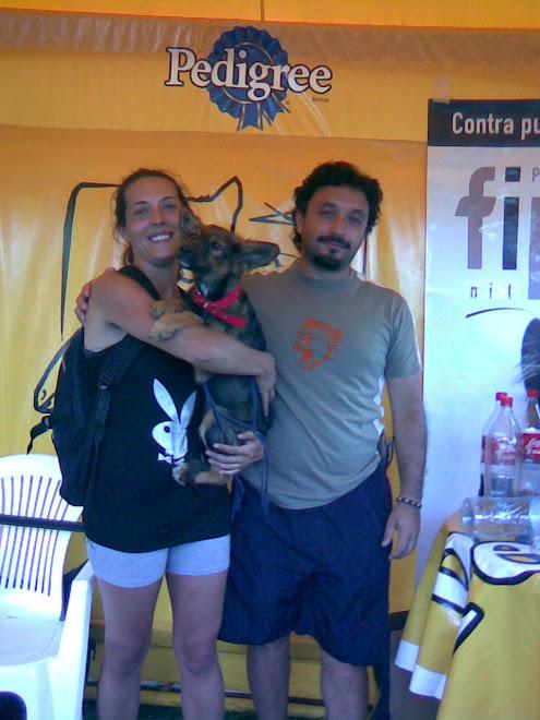 Cachorra adoptada