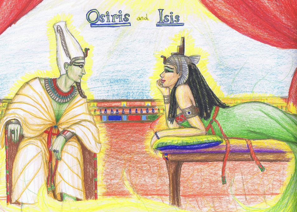 osiris and iris creation myth Summary the first son of geb and nut, osiris was tall, slender, and handsome, with jet black hair when his father, geb, gave up the reigning power over egypt a.