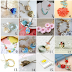 Etsy Floral Necklace Roundup