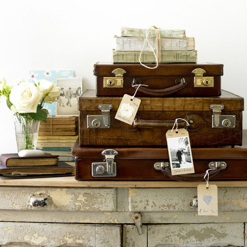 Inspiration Treasures Vintage Suitcase Furniture