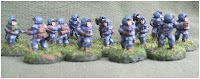 15mm ESU Naval Infantry from Ground Zero Games - doing duty as the Army of the Geithurian Republic