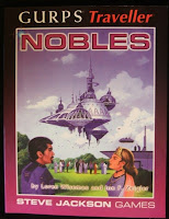 Cover of GURPs Traveller: Nobles from Steve Jackson Games