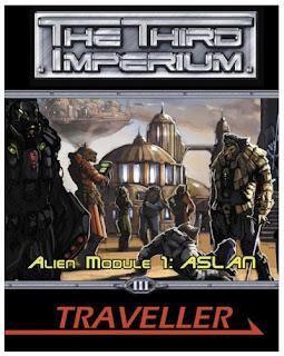 Cover of 'Alien Module 1: Aslan' by Gareth Hanrahan - Mongoose Publishing