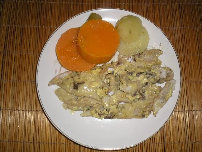 La cocina de mar a filet de merluza con salsa de mostaza for Cocinar filetes de merluza