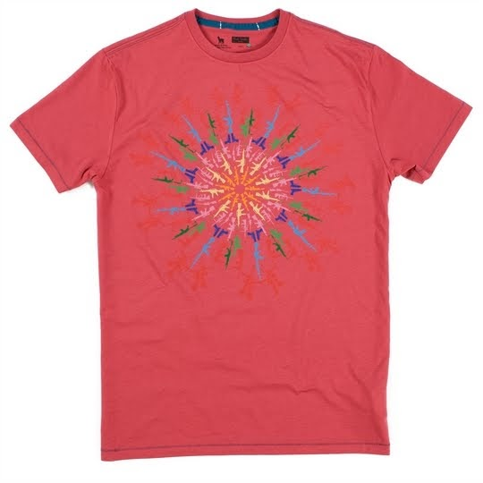Paul smith 39 s charity work for Charity printed t shirt