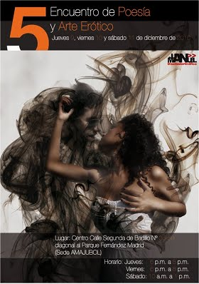 VI Encuentro de Poesía y Arte Erótico Cartagena de Indias 2011