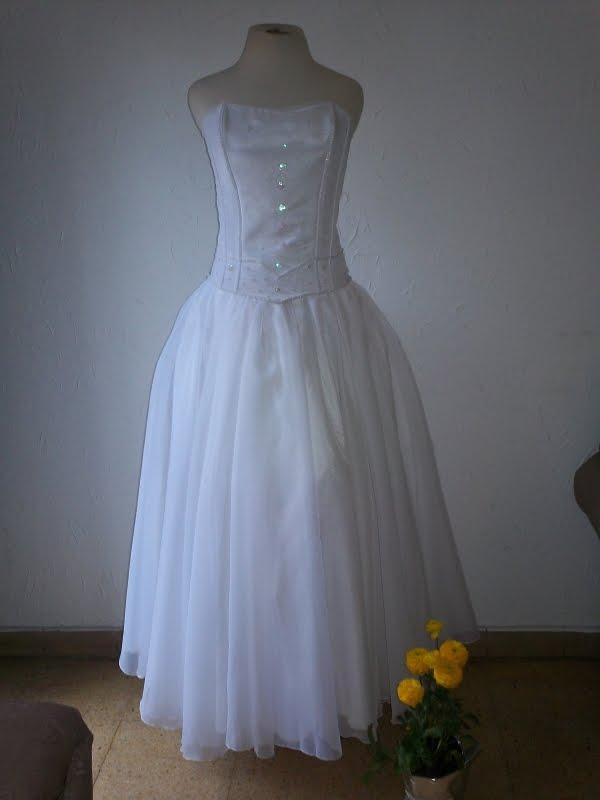 claudia creaciones: vestido de novia corset y falda