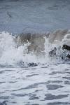 Splashing along the beach
