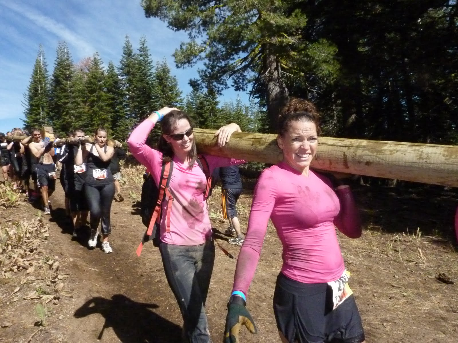 how to train for tough mudder female