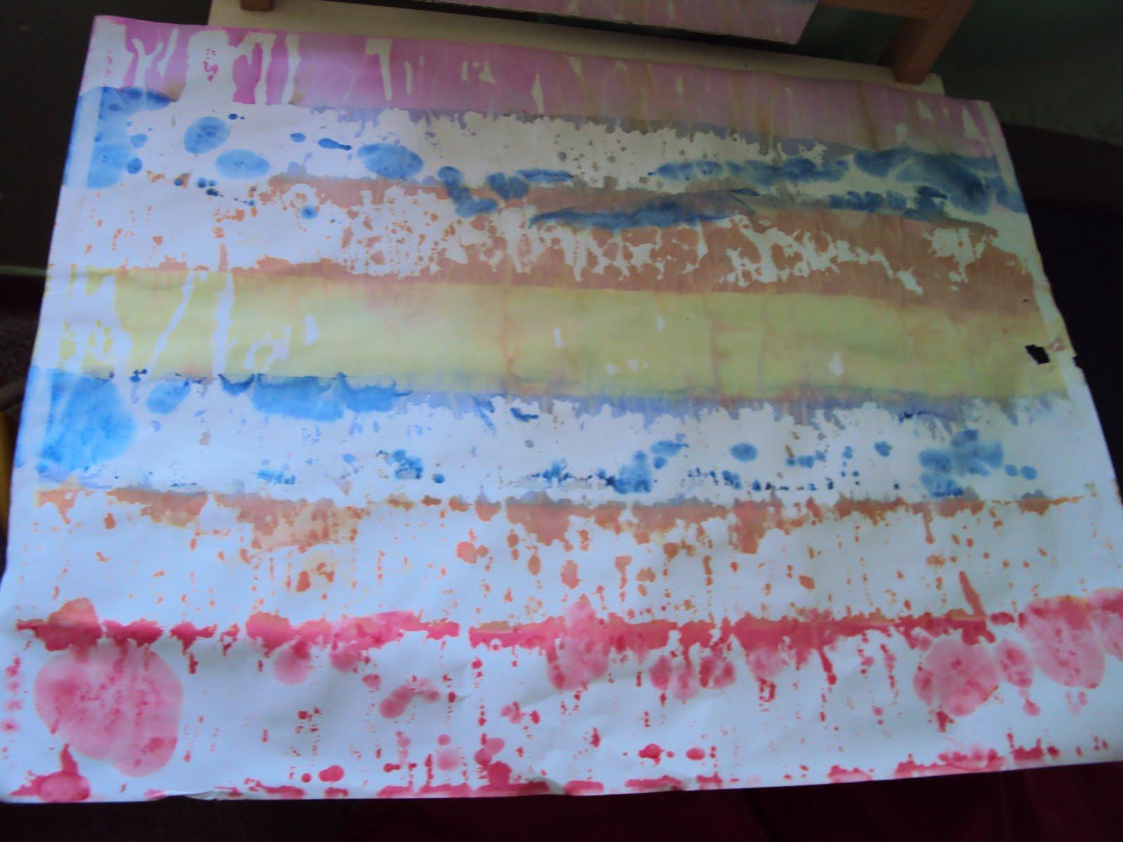 Quarteto fant stico t cnicas de pinturas - Pintura infantil pared ...