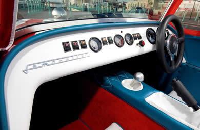 Lambretta Caterham interior