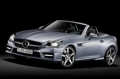 New Mercedes Benz SLK