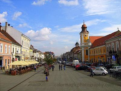 Hero's Avenue in Cluj Napoca-year 2009