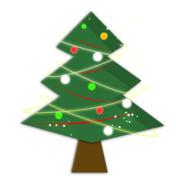 Christmas tree-icon