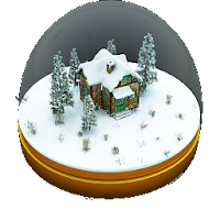 Xmas Globe-icon