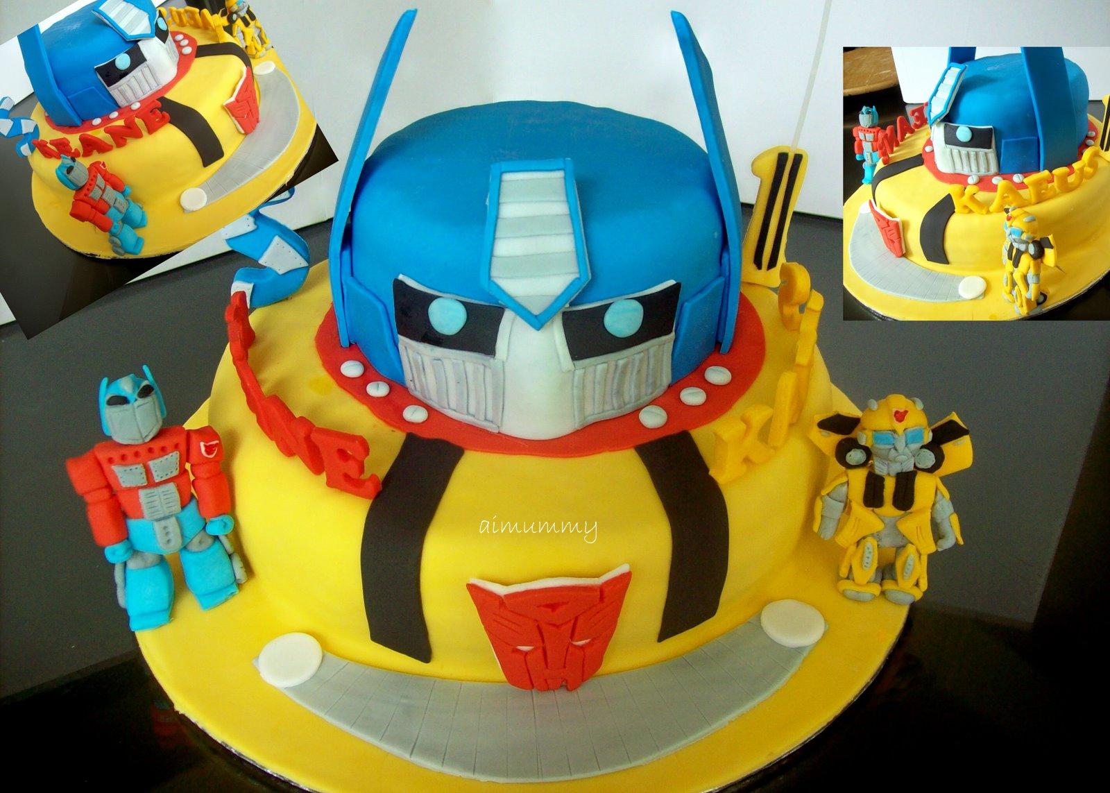 AiMummy Transformer Cake