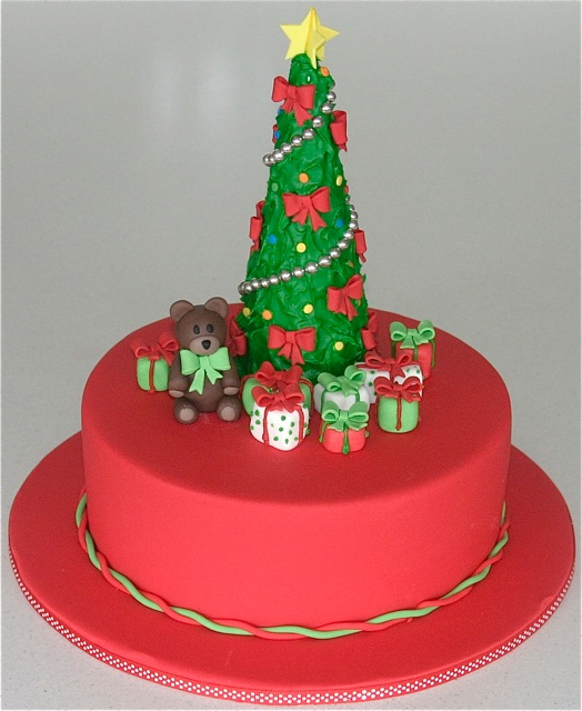 Blogs About Cake Decorating : Decorating Christmas Cakes Something for Cake Blog