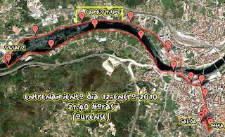 Mapa entrenamiento 12-01-2010