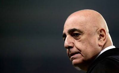 calcio, milan, galliani, serie a, inter