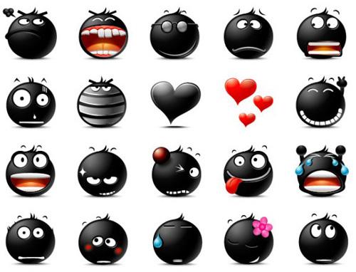 I Love You Emoticons