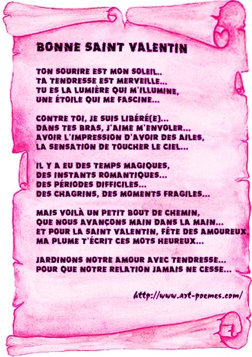 ... poesie damour et phrase damour pour la saint valentin : ~ tchoc...