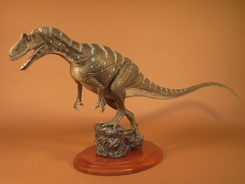 恐竜・古生物模型作品ギャラリー: アロサウルス Allosaurus ...  アロサウルス A