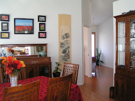 Dinning room and entry way