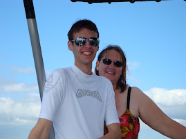 My son and I on snorkeling trip