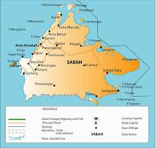 Peta Negeri Sabah