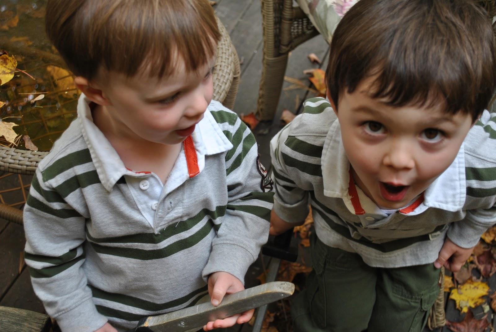 Little Boys in Their Briefs