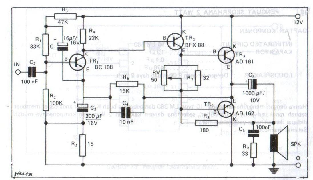 mini amplifier 6 watt