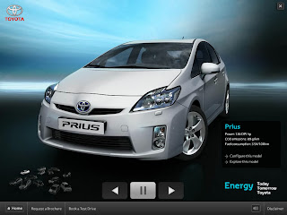Full screen video & high quality CGI will allow you to see Toyota models like you have never seen before!