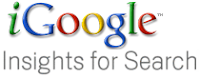 iGoogle Insights For Search, when two Google services meet