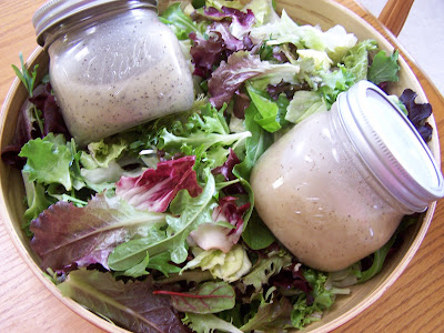 dressings for salads. Poppy Seed Dressing on the