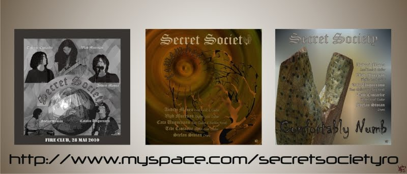 """SECRET SOCIETY"" ROCK BAND"