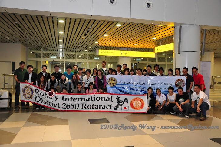 D2650 Japanese Rotaractors visitation