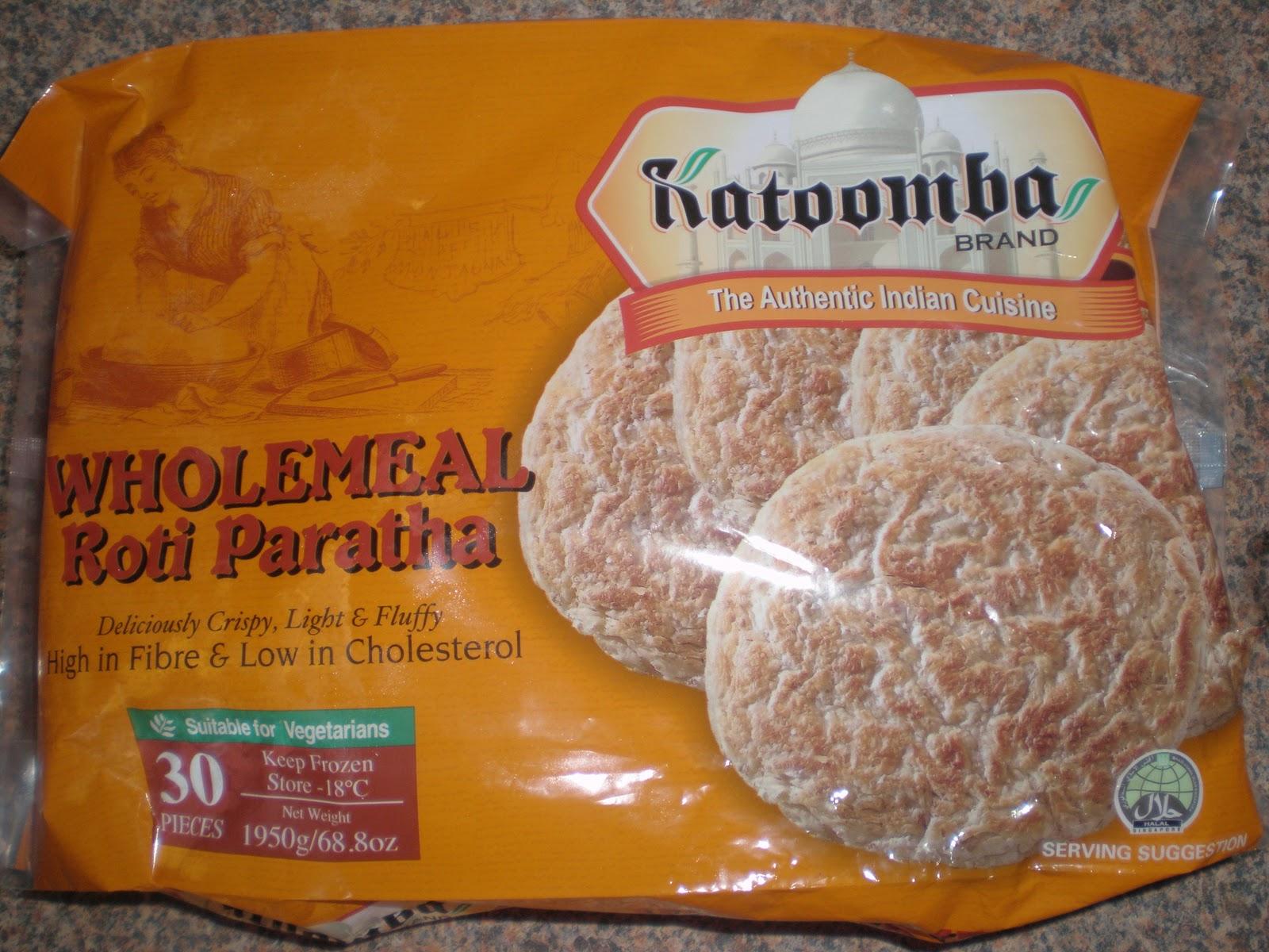 Roti Paratha Katoomba Whole Meal Roti Parathas