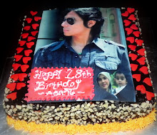 birthday cake -with edible image