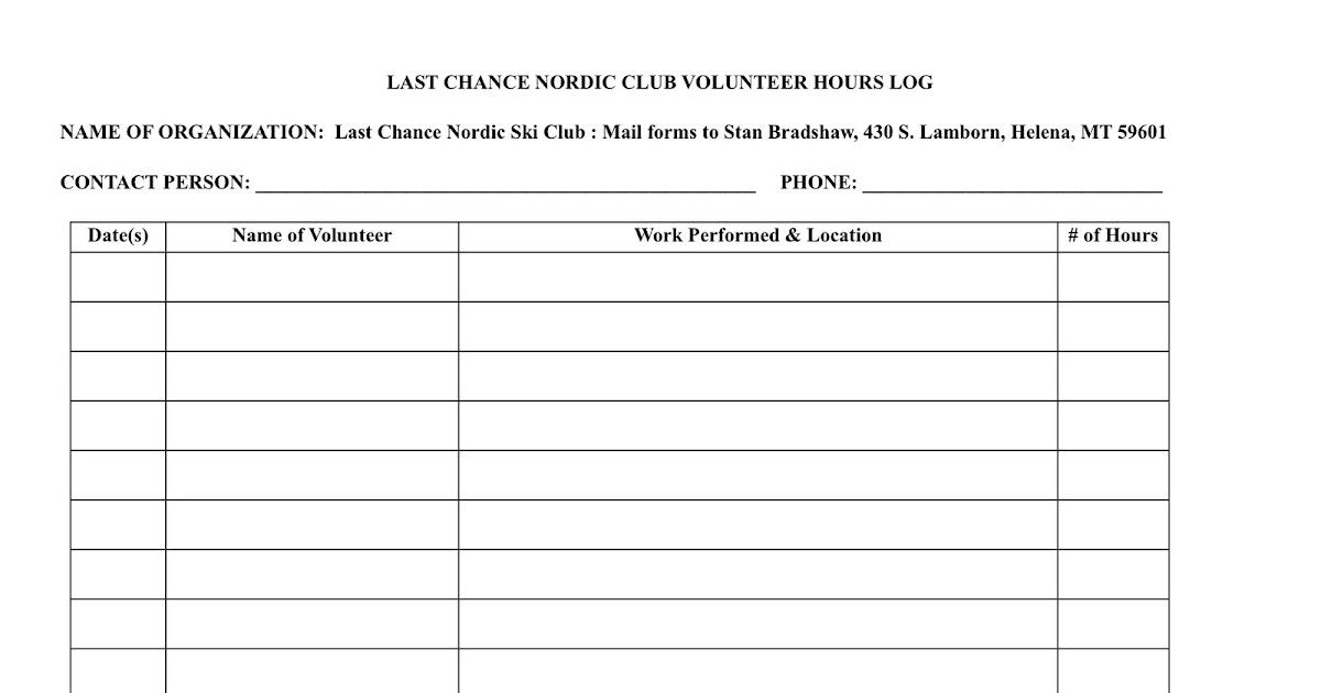 sample community volunteer resume