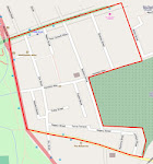Area covered by Mile End Residents Association (MERA)