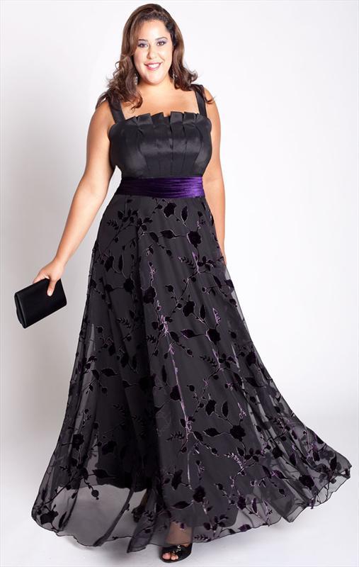 Выкройка длинного платья-сарафана для