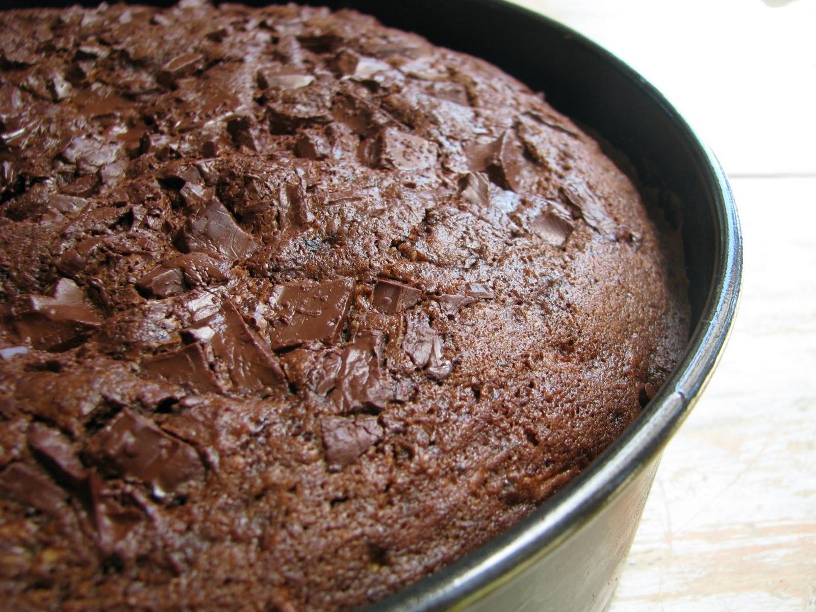 Recipe chocolate courgette cake