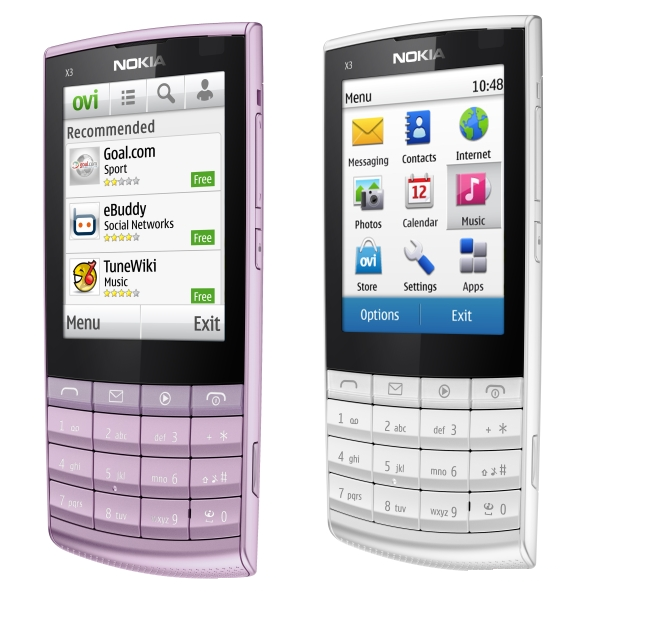 Android Symbian Market: LOW COST 3G MOBILE NOKIA X3-TOUCH&TYPE