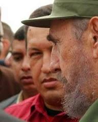Chavez con Fidel