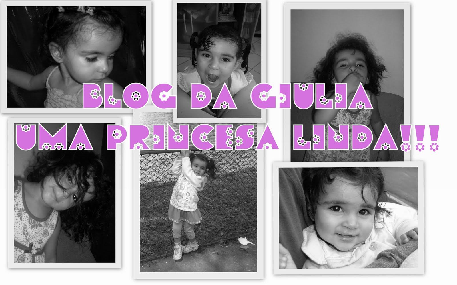GIULIA PRINCESA DA MAMÃE....