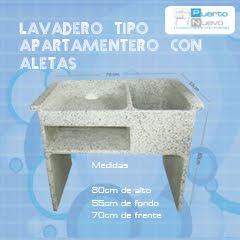 Prefabricados puerto nuevo for Base para lavadero